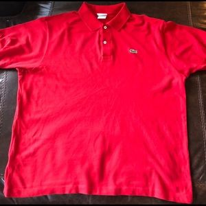 Men's XL Short Sleeve Lacoste Polo